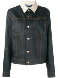джинсовая куртка с заплаткой с логотипом Holiday