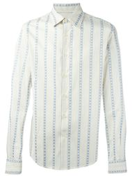 рубашка в полоску Romeo Gigli Vintage
