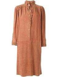 платье с оборками Emanuel Ungaro Vintage