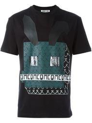 футболка с принтом 'Electro Bunny' McQ Alexander McQueen
