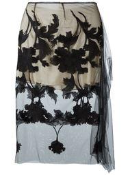 юбка с вышивкой  Marques'almeida