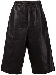 кожаные шорты-боксеры  Juun.J