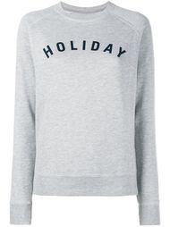толстовка с принтом-логотипом Holiday