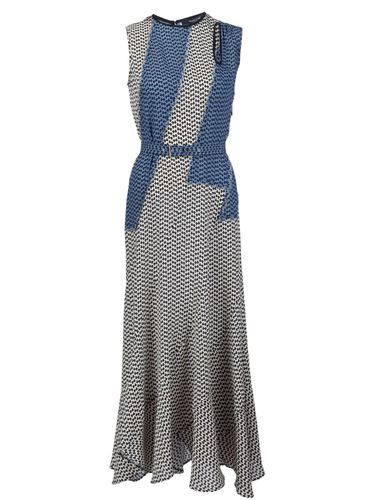 платье с мелким узором Derek Lam