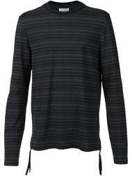 полосатая футболка с длинными рукавами Maison Margiela