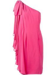платье на одно плечо Jean Louis Scherrer Vintage