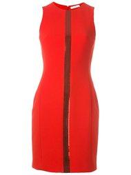 платье с полосой из пайеток Versace Collection