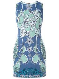 """мини-платье с принтом в стиле """"барокко"""" Versace Collection"""