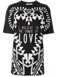 футболка I Believe in the Power of Love Givenchy