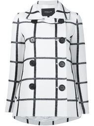 пальто в клетку Derek Lam