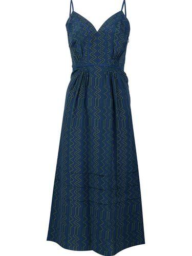 """расклешенное платье с вырезом """"сердечко"""" Derek Lam"""