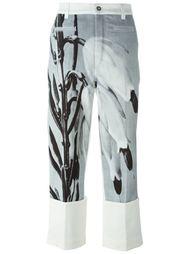 рыбацкие брюки с растительным принтом Loewe