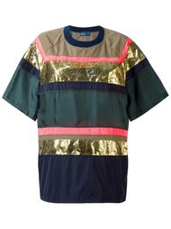 футболка с панельным дизайном Kolor
