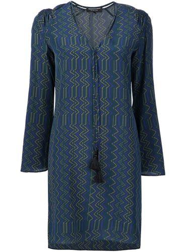 платье с V-образным вырезом Derek Lam