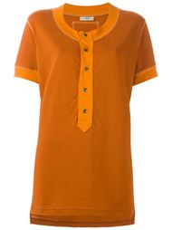 футболка с воротником-хенли Romeo Gigli Vintage
