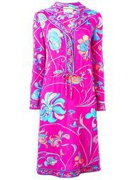 платье с цветочным принтом Emilio Pucci Vintage