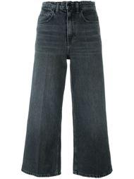 укороченные широкие джинсы Alexander Wang