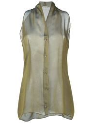 рубашка без рукавов Romeo Gigli Vintage