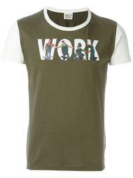 футболка с принтом 'Work' Walter Van Beirendonck Vintage