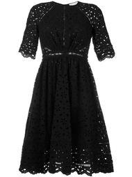 платье с вышивкой Zimmermann