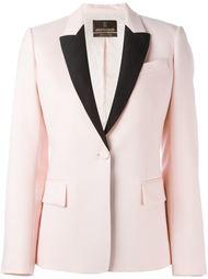 пиджак с контрастными лацканами Roberto Cavalli