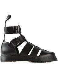 сандалии-гладиаторы на массивной подошве Dr. Martens