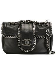 мини сумка через плечо на цепочке Chanel Vintage