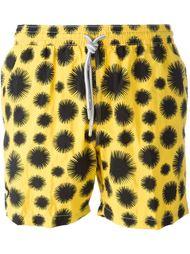 плавательные шорты с пятнистым принтом Capricode