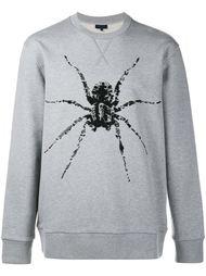 декорированный свитер с принтом паука Lanvin