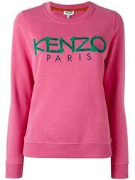 толстовка с веревочным логотипом 'Kenzo Paris' Kenzo