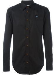рубашка с логотипом на груди Vivienne Westwood Man