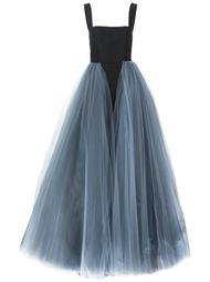вечернее платье с юбкой из тюля Christian Siriano