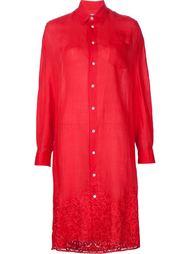 платье с вышивкой  Junya Watanabe Comme Des Garçons