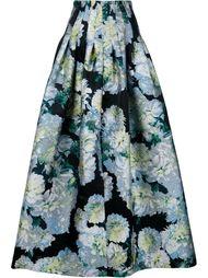 жаккардовая юбка макси Adam Lippes