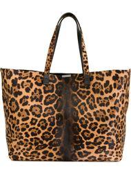 сумка-тоут с леопардовым принтом  Victoria Beckham