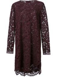платье с волнистой отделкой  Adam Lippes