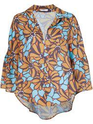 блузка с цветочным принтом Tome