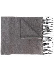 двусторонний шарф с бахромой Dsquared2