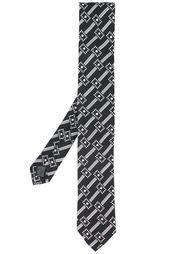 галстук в клетку Dolce & Gabbana