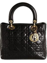 сумка-тоут 'Lady Dior' средних размеров Christian Dior Vintage