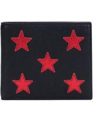 кошелек с вышивкой звезд  Saint Laurent