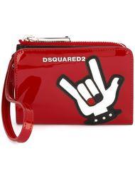 кошелек с аппликацией 'Punk' Dsquared2