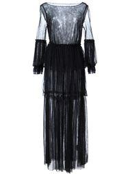 прозрачное платье  Malia Mills