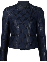 байкерская куртка 'Diamond Plaid' Yigal Azrouel