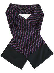 шарф с узоором Hermès Vintage