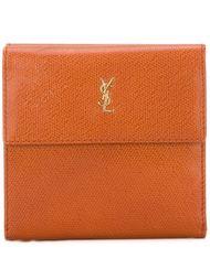 классический бумажник  Yves Saint Laurent Vintage