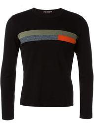 свитер в стиле колор-блок  Junya Watanabe Comme Des Garçons Vintage