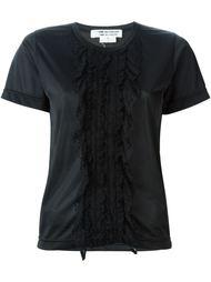 футболка с кружевной отделкой Comme Des Garçons Vintage