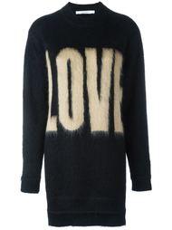 джемпер с надписью Love Givenchy