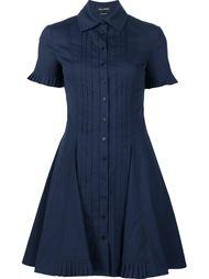 плиссированное платье-рубашка  Yigal Azrouel